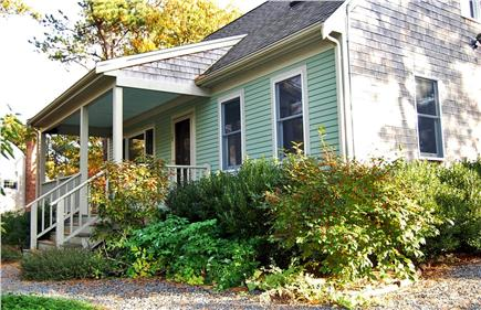 Wellfleet Cape Cod vacation rental - Wellfleet Green home. Shaded front porch is cool on hot days