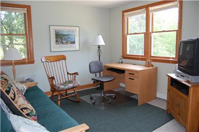 Wellfleet Cape Cod vacation rental - Loft area & den with queen futon sofabed