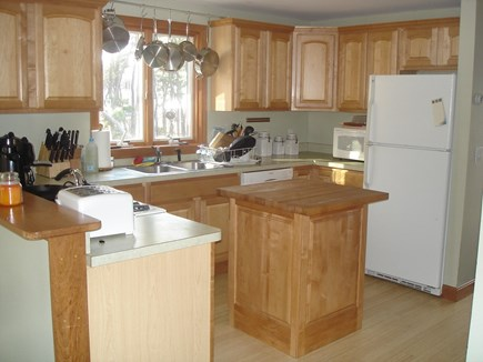 Wellfleet Cape Cod vacation rental - Open Kitchen adjacent to dining area