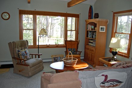 Wellfleet Cape Cod vacation rental - Open living room