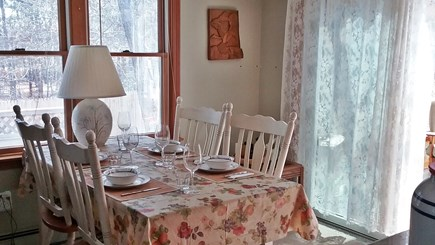 Wellfleet Cape Cod vacation rental - Dining area looking from kitchen