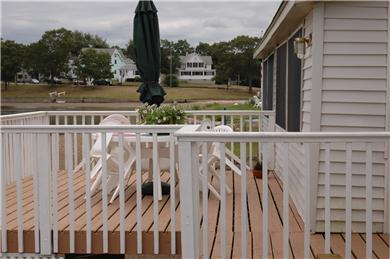 Onset MA vacation rental - Furnished Deck