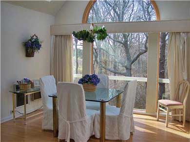 Brewster Cape Cod vacation rental - Dining area