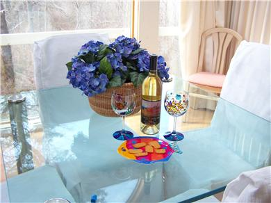 Brewster Cape Cod vacation rental - Dining table