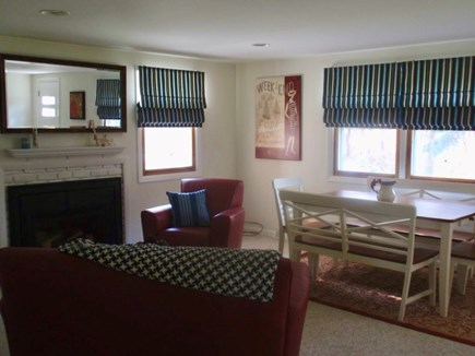 South Harwich Cape Cod vacation rental - Bright and welcoming livingroom / dining area