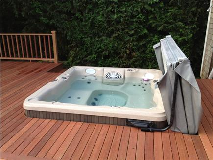 South Harwich Cape Cod vacation rental - After a day at the beach, relax in the 7-ft (27-jet) Jacuzzi