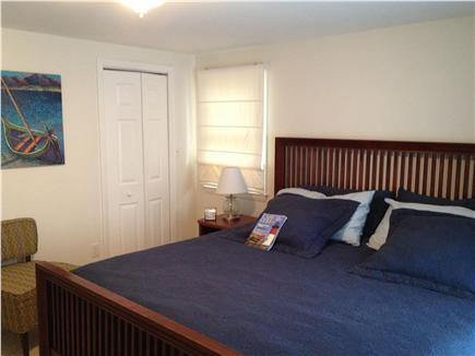 South Harwich Cape Cod vacation rental - Master w/ King size bed, en-suite bathroom and walk-in closet
