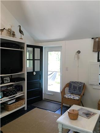 Barnstable Cape Cod vacation rental - Another view of living room toward front door.