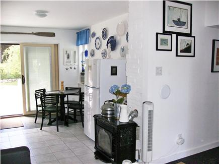 Barnstable Cape Cod vacation rental - Cozy dining area if you are not enjoying a meal on the deck.