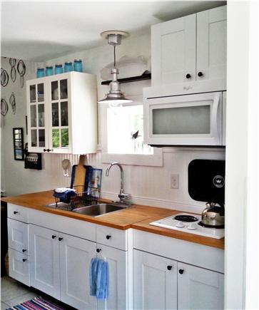 Barnstable Cape Cod vacation rental - The kitchen has everything you need to prepare a meal.