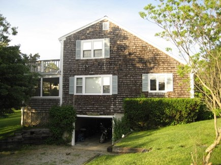 Dennis Cape Cod vacation rental - 30 foot drive-under garage for canoes, cars, and bikes!
