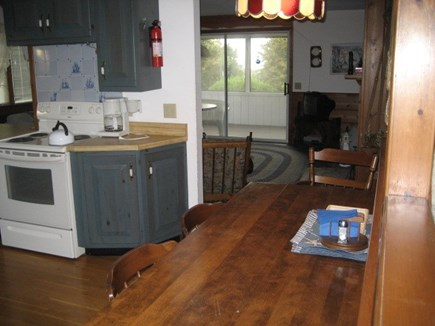 Dennis Cape Cod vacation rental - Eat in Kitchen table seats 8