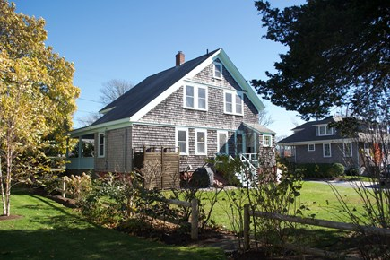 Chatham In Town Cape Cod vacation rental - Lovely quiet green space.