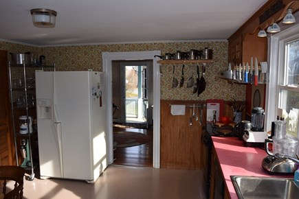 Chatham In Town Cape Cod vacation rental - Bright eat in kitchen.