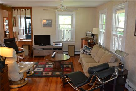 Chatham In Town Cape Cod vacation rental - Living Room & TV