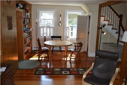 Chatham In Town Cape Cod vacation rental - Game Table & Library