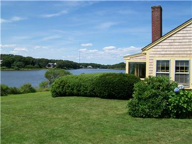 Falmouth  Cape Cod vacation rental - Lawn and water view