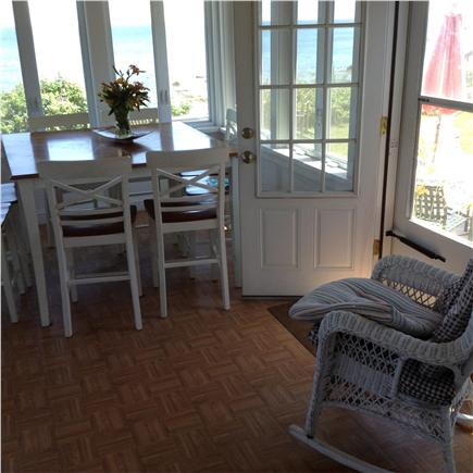 Plymouth MA vacation rental - Dining area with beautiful water views