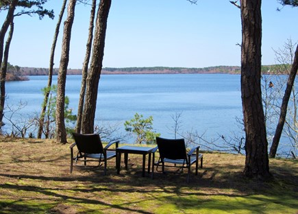 Brewster Cape Cod vacation rental - Relax with morning coffee with water views