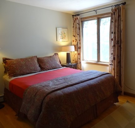 Brewster Cape Cod vacation rental - Upstairs Queen bedroom
