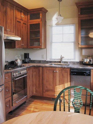 Orleans Cape Cod vacation rental - Beautiful Custonm Wood  Kitchen, & Stainless Steel Appliances