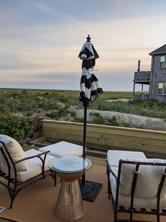 Provincetown Cape Cod vacation rental - Back deck with view of Long Point