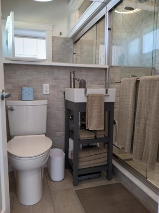 Provincetown Cape Cod vacation rental - Bathroom w/shower. No tub.