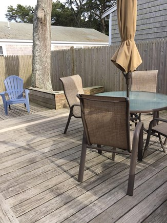 Dennisport Cape Cod vacation rental - Huge deck - perfect for outdoor dining