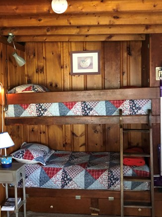 Wellfleet Cape Cod vacation rental - Bunks in enclosed porch