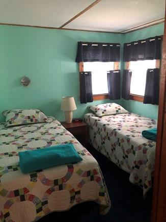 Wellfleet Cape Cod vacation rental - Twin beds in back bedroom