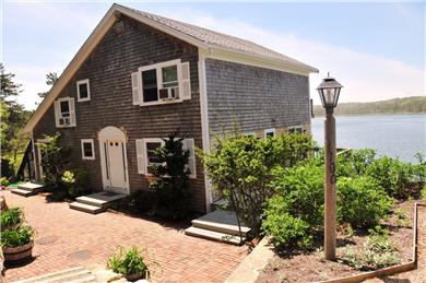 Wellfleet, south of town cente Cape Cod vacation rental - Five bedrooms and five decks, right on a Cove, Spectacular Views