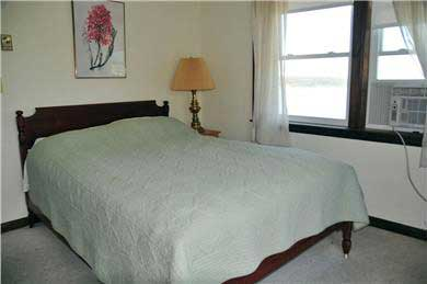 Wellfleet, south of town cente Cape Cod vacation rental - Bedroom #3 (2nd floor) Full Sized bed and deck, A/C