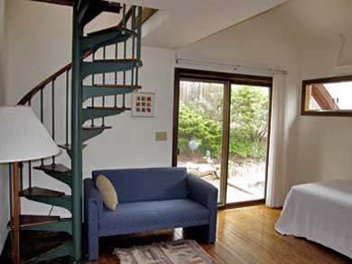 Wellfleet, south of town cente Cape Cod vacation rental - Bedroom #4 (2nd floor) with Queen(Trundle) & Loft with Twin, A/C