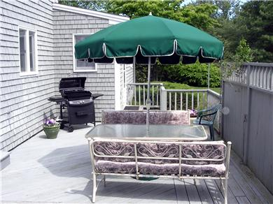 Centerville Centerville vacation rental - Back Deck:  has new grill, patio set, Perfect for Entertaining!