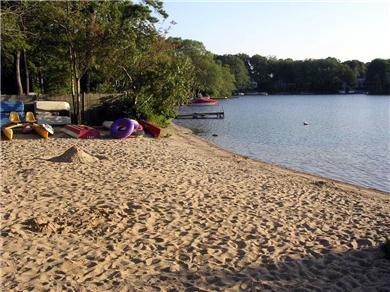 Centerville Centerville vacation rental - Short walk to private Association beach on Lake Wequaquet