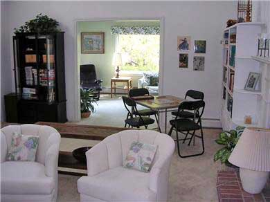 Centerville Centerville vacation rental - Open layout with bright sunken living room with working fireplace