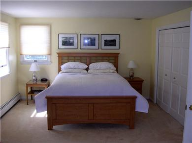 Centerville Centerville vacation rental - Upstairs Master Suite with Queen Bed and double closets