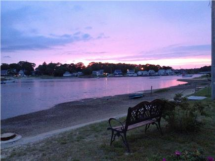 Onset on Water Street Inlet MA vacation rental - From Porch or Beach, see FAB Sunsets Reflected Over the Inlet!