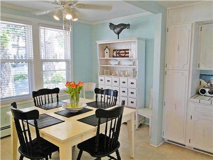 Onset on Water Street Inlet MA vacation rental - Bright & Inviting Dining Area off LR & Kitchen adj. to FamilyRoom
