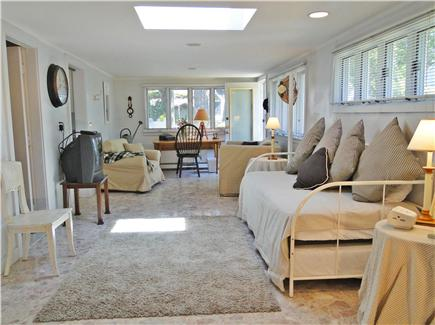 Onset on Water Street Inlet MA vacation rental - Sunny & Spacious Family Room & Study w/ Daybed, Bath, Laundry