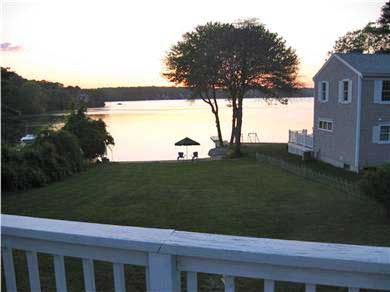 Plymouth MA vacation rental - Take in the view from the deck