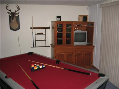 Plymouth MA vacation rental - Enjoy a game of pool or some tv