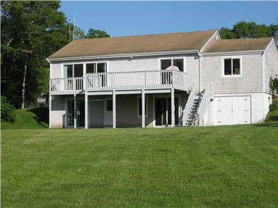 Plymouth MA vacation rental - Enjoy the large backyard steps to the water