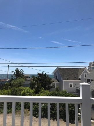 West Dennis Cape Cod vacation rental - Ocean view from balcony off master bedroom.