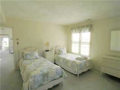 South Yarmouth Cape Cod vacation rental - Twin bedroom with air conditioing and cable TV
