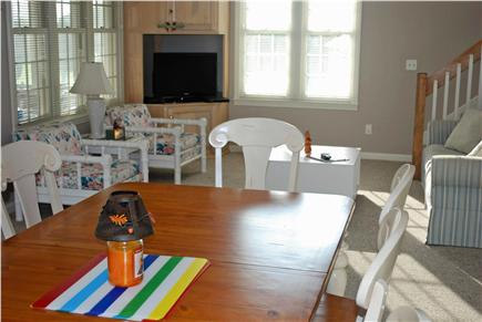 South Yarmouth Cape Cod vacation rental - Living and dining area, from the kitchen