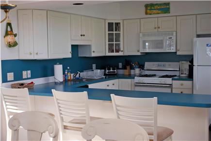 South Yarmouth Cape Cod vacation rental - Fantastic kitchen area (gas stove)