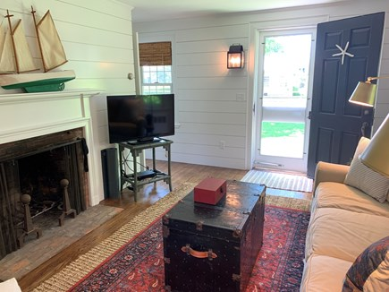 Chatham Cape Cod vacation rental - Living Room. Fireplace