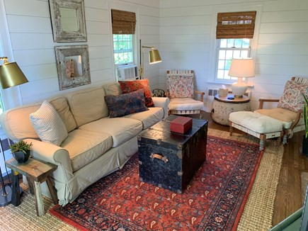 Chatham Cape Cod vacation rental - Living Room. Window A/C unit.