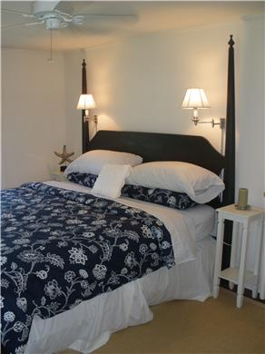 Chatham Cape Cod vacation rental - King size bed. Window A/C unit.